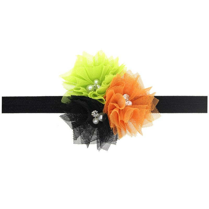 Cloth Fashion Flowers Hair accessories  Orange  Fashion Jewelry NHWO0948Orange