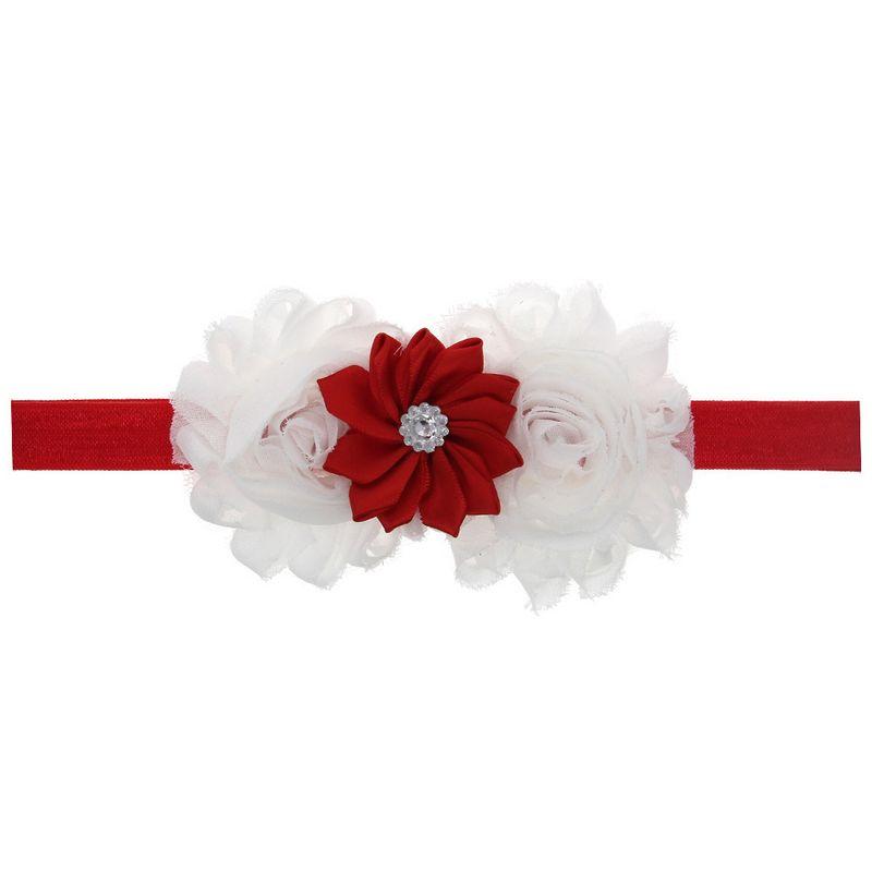 Cloth Fashion Flowers Hair accessories  white  Fashion Jewelry NHWO0952white