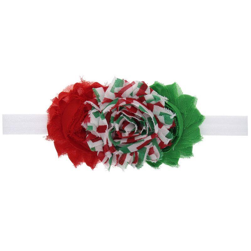 Cloth Fashion Flowers Hair accessories  (white)  Fashion Jewelry NHWO0955-white
