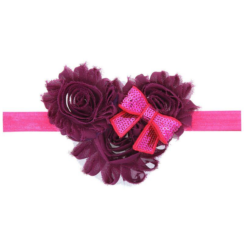Cloth Fashion Flowers Hair accessories  (watermelon red)  Fashion Jewelry NHWO0959-watermelon-red