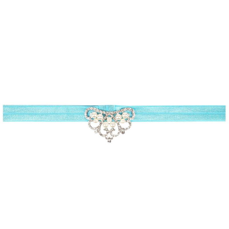 Cloth Fashion  Hair accessories  blue  Fashion Jewelry NHWO0965blue