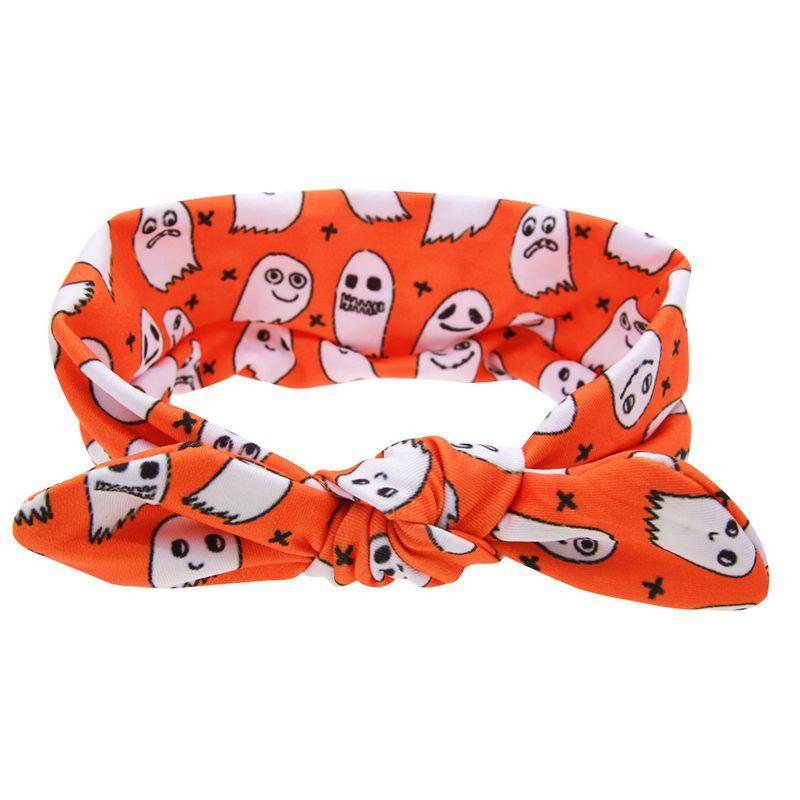 Cloth Fashion Geometric Hair accessories  (Orange ghost)  Fashion Jewelry NHWO0966-Orange-ghost