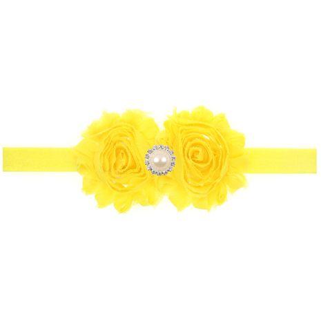 Cloth Fashion Geometric Hair accessories  (yellow)  Fashion Jewelry NHWO0967-yellow's discount tags