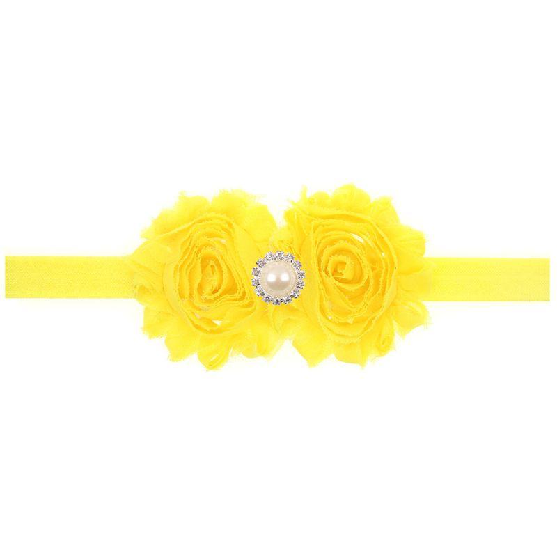 Cloth Fashion Geometric Hair accessories  yellow  Fashion Jewelry NHWO0967yellow