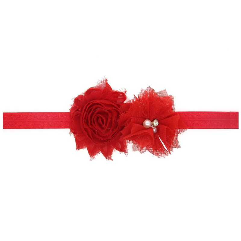 Cloth Fashion Flowers Hair accessories  red  Fashion Jewelry NHWO0996red