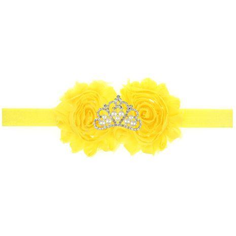 Cloth Fashion Geometric Hair accessories  (yellow)  Fashion Jewelry NHWO1001-yellow's discount tags