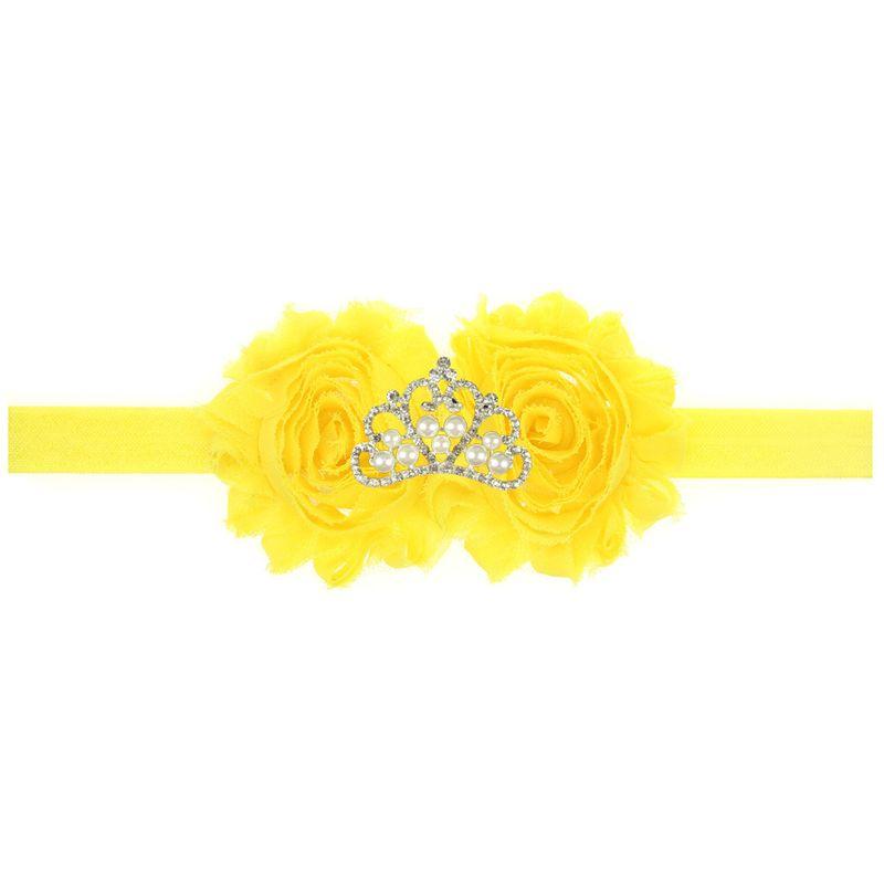 Cloth Fashion Geometric Hair accessories  yellow  Fashion Jewelry NHWO1001yellow