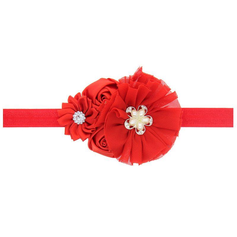 Cloth Fashion Flowers Hair accessories  (SD005-1)  Fashion Jewelry NHWO1009-SD005-1