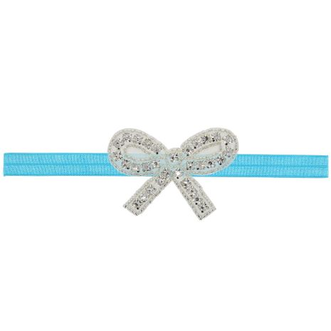 Imitated crystal&CZ Fashion Flowers Hair accessories  (blue)  Fashion Jewelry NHWO1013-blue's discount tags