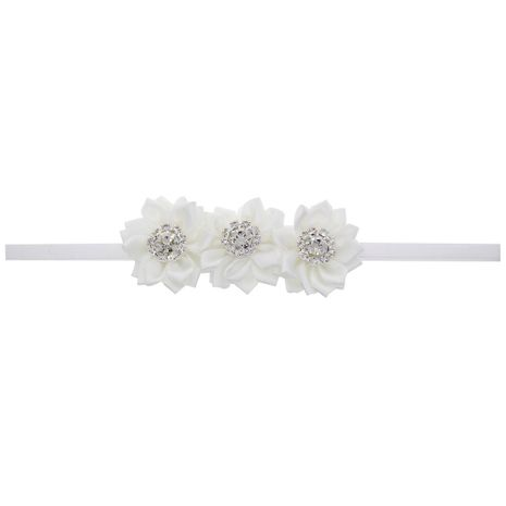 Cloth Fashion Flowers Hair accessories  (white)  Fashion Jewelry NHWO1016-white's discount tags