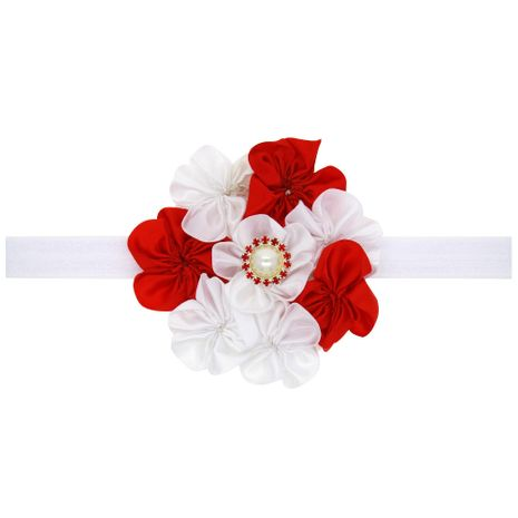 Cloth Fashion Flowers Hair accessories  (red)  Fashion Jewelry NHWO1027-red's discount tags