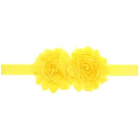 Cloth Fashion Geometric Hair accessories  (yellow)  Fashion Jewelry NHWO1032-yellow's discount tags