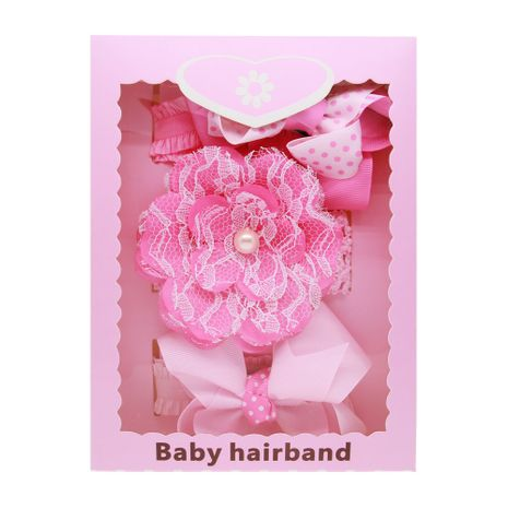 Alloy Fashion Bows Hair accessories  (Pink boxed)  Fashion Jewelry NHWO1050-Pink-boxed's discount tags