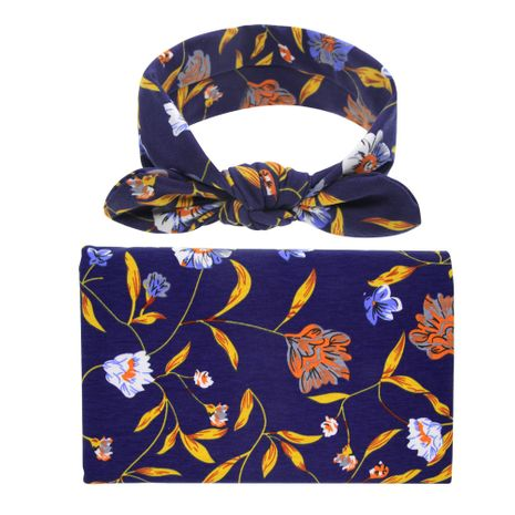 Cloth Fashion Flowers Hair accessories  (Navy blue)  Fashion Jewelry NHWO1058-Navy-blue's discount tags