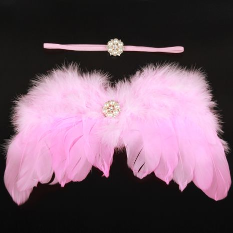 Alloy Fashion  Hair accessories  (Pink-pink  white)  Fashion Jewelry NHWO1066-Pink-pink-white's discount tags