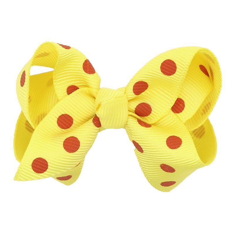 Cloth Fashion Bows Hair accessories  yellow  Fashion Jewelry NHWO1073yellow