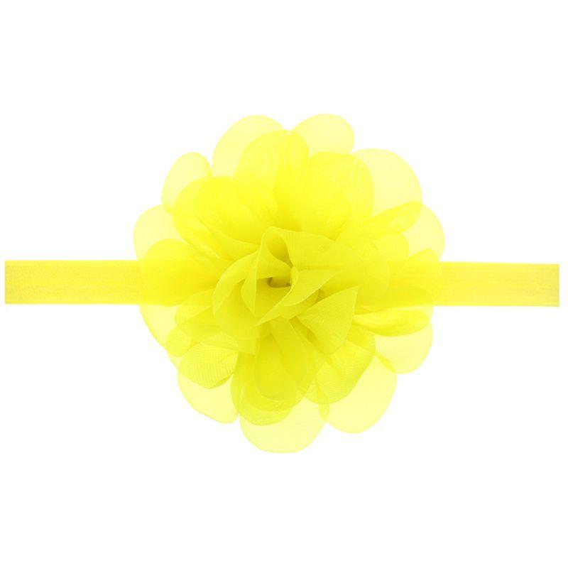 Cloth Fashion Bows Hair accessories  yellow  Fashion Jewelry NHWO1078yellow