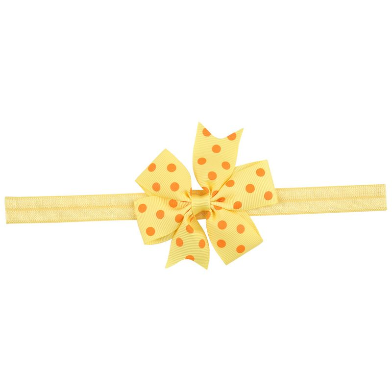 Cloth Fashion Flowers Hair accessories  Yellow orange  Fashion Jewelry NHWO1088Yelloworange