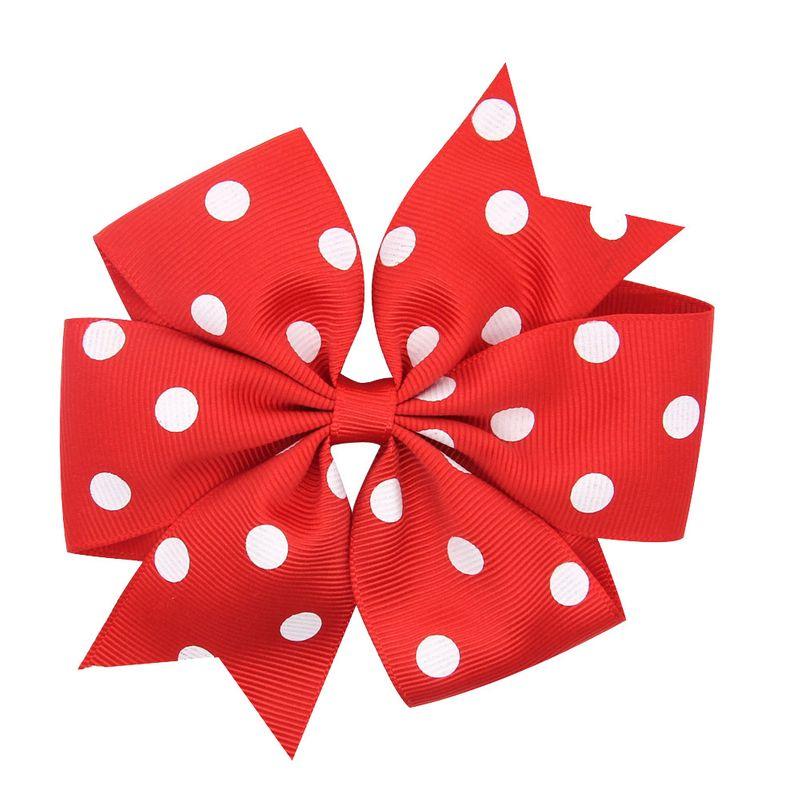 Fleurs en alliage de mode Accessoires de cheveux rouge et blanc Bijoux de mode NHWO1090Rougeetblanc