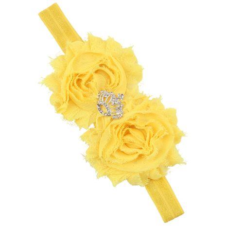 Cloth Fashion Geometric Hair accessories  (yellow)  Fashion Jewelry NHWO1096-yellow's discount tags