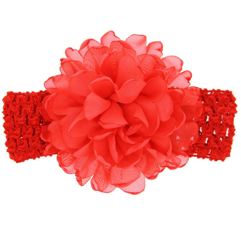 Cloth Fashion Flowers Hair accessories  red  Fashion Jewelry NHWO1098red