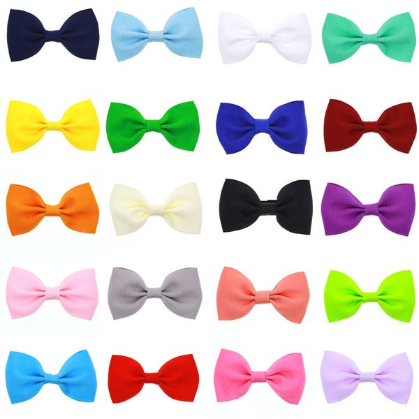 Cloth Fashion Bows Hair accessories  (20 colors a pack)  Fashion Jewelry NHWO1104-20-colors-a-pack