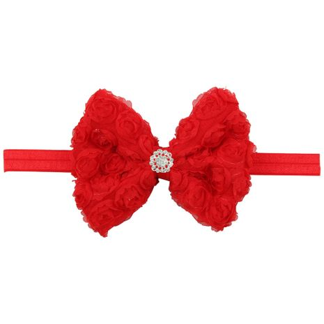 Cloth Fashion Flowers Hair accessories  (red)  Fashion Jewelry NHWO1109-red's discount tags