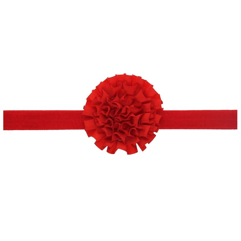 Cloth Fashion Flowers Hair accessories  red  Fashion Jewelry NHWO1122red