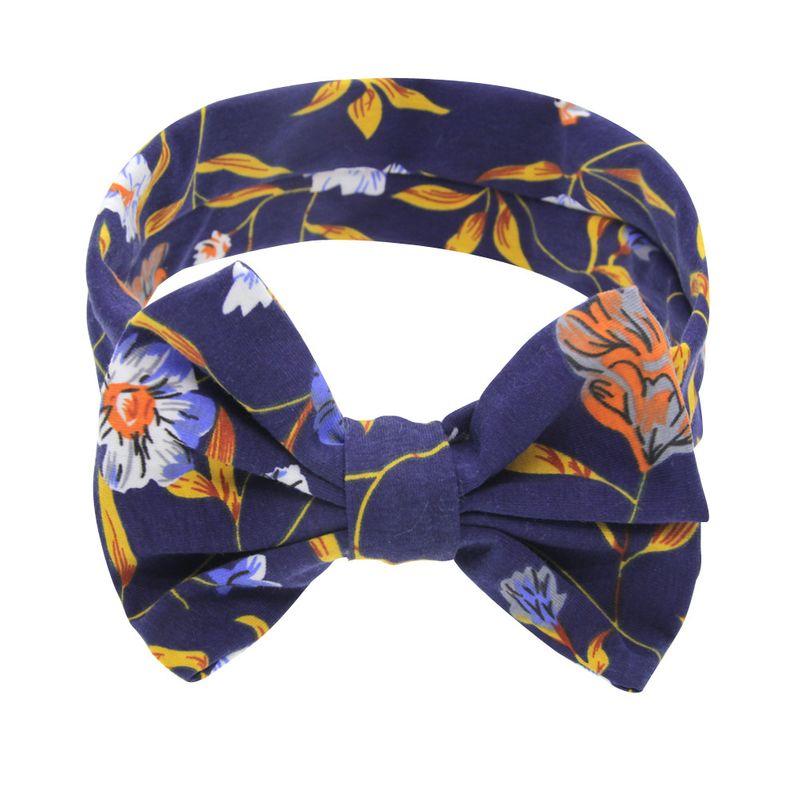 Cloth Fashion Bows Hair accessories  Navy blue bow  Fashion Jewelry NHWO1132Navybluebow