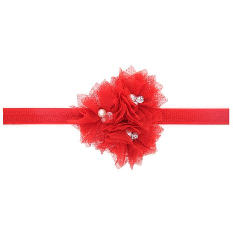 Cloth Fashion Flowers Hair accessories  (red)  Fashion Jewelry NHWO1140-red's discount tags