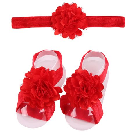 Cloth Fashion Flowers Hair accessories  (red)  Fashion Jewelry NHWO1144-red's discount tags