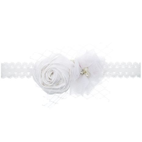Cloth Fashion Flowers Hair accessories  (white)  Fashion Jewelry NHWO1149-white's discount tags