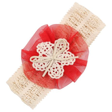 Cloth Fashion Flowers Hair accessories  (red)  Fashion Jewelry NHWO1150-red's discount tags