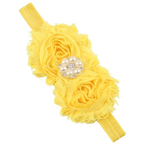 Cloth Fashion Geometric Hair accessories  (yellow)  Fashion Jewelry NHWO1152-yellow's discount tags