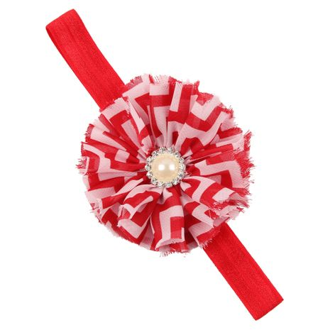 Cloth Fashion Flowers Hair accessories  (red)  Fashion Jewelry NHWO1155-red's discount tags