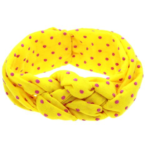 Cloth Fashion Geometric Hair accessories  (yellow)  Fashion Jewelry NHWO1163-yellow's discount tags