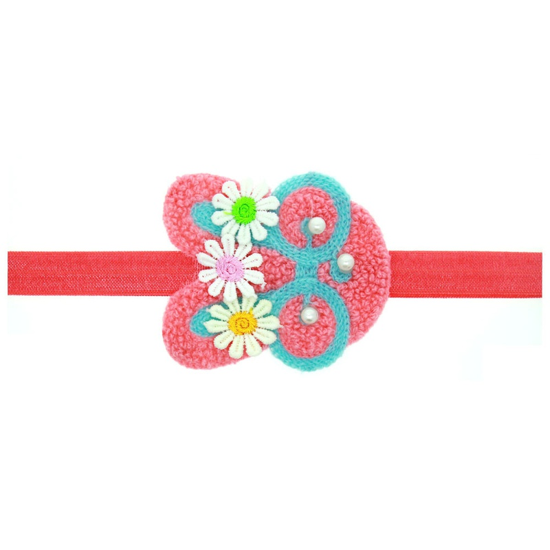 Cloth Fashion Flowers Hair accessories  (watermelon red)  Fashion Jewelry NHWO1172-watermelon-red