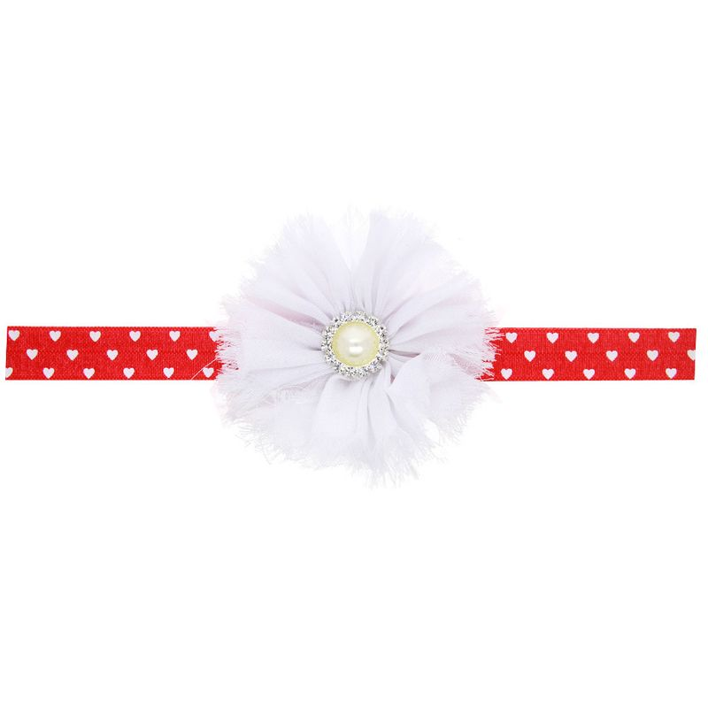 Cloth Fashion Flowers Hair accessories  red  Fashion Jewelry NHWO1173red