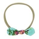 Cloth Fashion Flowers Hair accessories  green  Fashion Jewelry NHWO0788green
