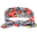 Cloth Fashion Flowers Hair accessories  Knotted gray  Fashion Jewelry NHWO0794Knottedgray