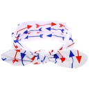 Cloth Fashion Geometric Hair accessories  Red and blue stars  Fashion Jewelry NHWO0797Redandbluestars