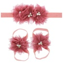 Cloth Fashion Flowers Hair accessories  red  Fashion Jewelry NHWO0801red