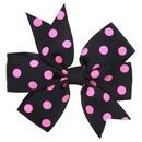 Cloth Fashion Bows Hair accessories  Rose red dot  Fashion Jewelry NHWO0809Rosereddot