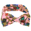 Cloth Fashion Flowers Hair accessories  Pink owl  Fashion Jewelry NHWO0815Pinkowl