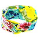Cloth Fashion Flowers Hair accessories  yellow  Fashion Jewelry NHWO0865yellow
