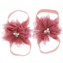 Cloth Fashion Flowers Hair accessories  red  Fashion Jewelry NHWO0883red