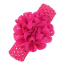 Cloth Fashion Flowers Hair accessories  red  Fashion Jewelry NHWO0898red