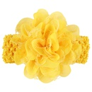 Cloth Fashion Flowers Hair accessories  yellow  Fashion Jewelry NHWO0901yellow