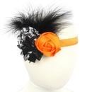 Cloth Fashion Flowers Hair accessories  Orange  Fashion Jewelry NHWO0949Orange
