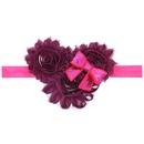 Cloth Fashion Flowers Hair accessories  watermelon red  Fashion Jewelry NHWO0959watermelonred